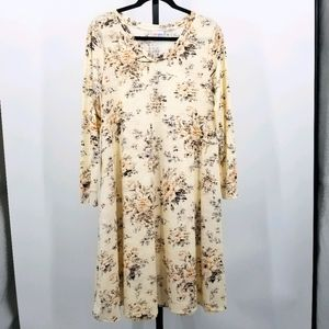 Lularoe Emily Cottagecore Boho Swing Dress Small